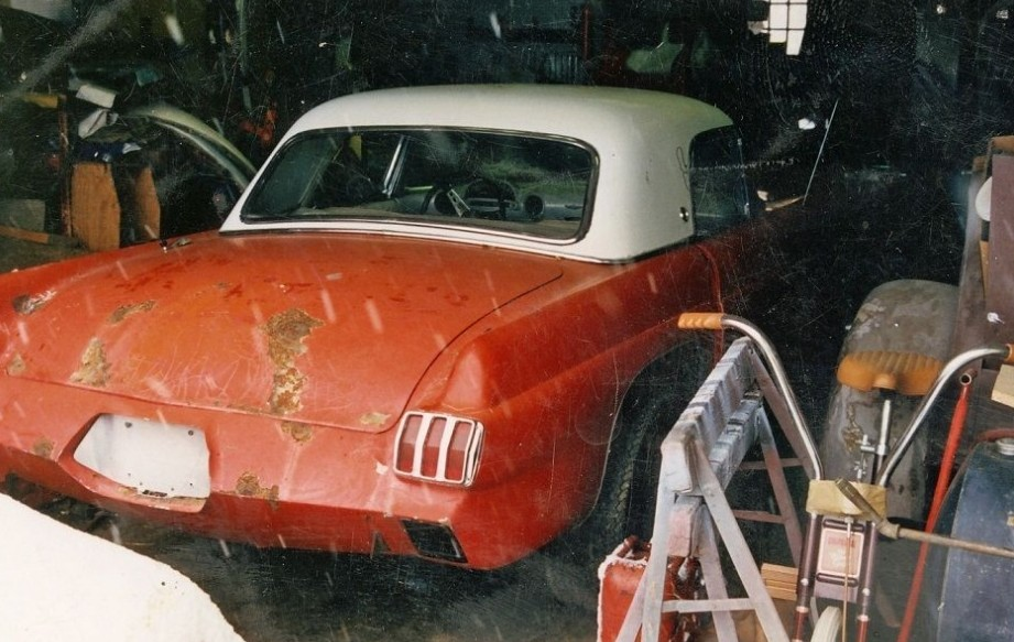 Cushenbery Custom: 1956 Ford Thunderbird