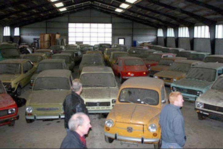 Abandoned Fiat Dealership In Denmark