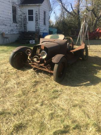 Corn Crib Find Ford Model T Speedster
