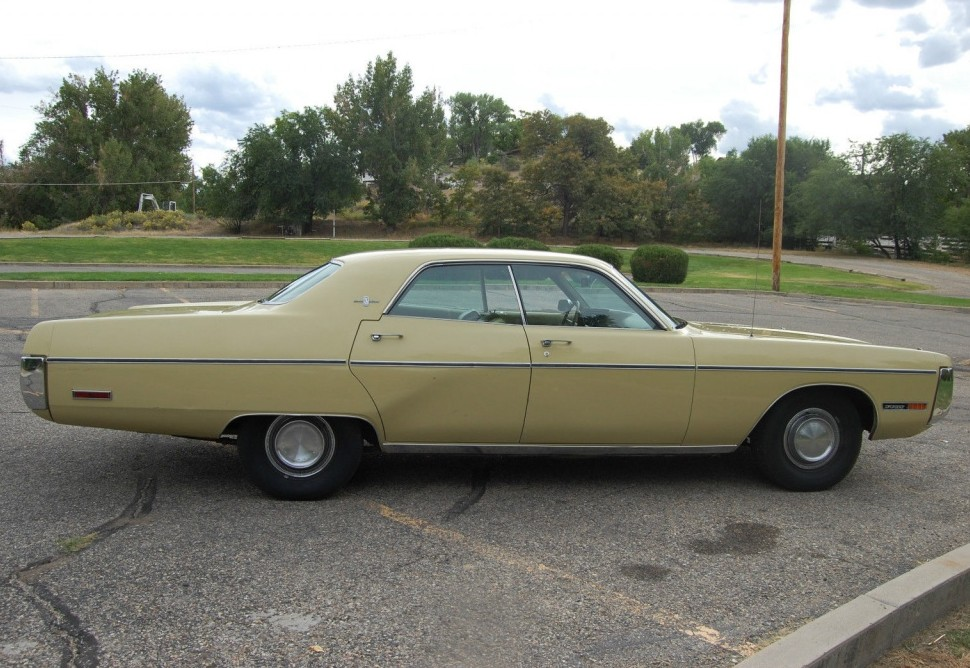 Colorado Grand 1972 Plymouth Fury Gran Sedan
