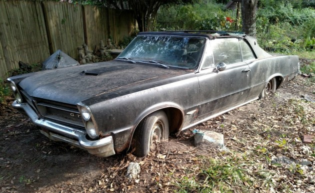 Parked Since 82 1965 Pontiac Gto Convertible