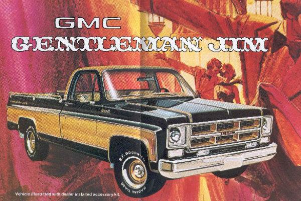 Gentleman Jim! 1975 GMC Sierra Pickup