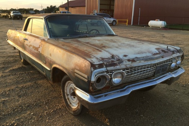 Waiting For A Drivetrain: 1963 Chevrolet Impala SS