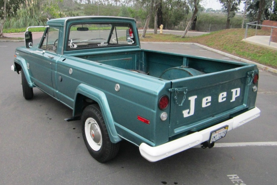White Jeep Wagoneer >> Drive Or Restore? 1971 Jeep Gladiator J10