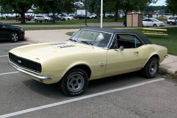 1967 Chevy Camaro Super Sport