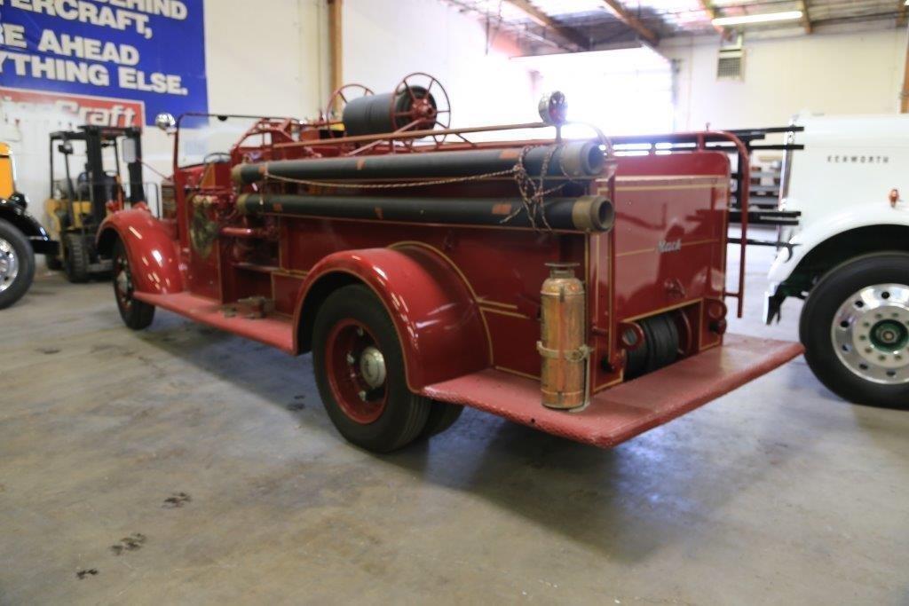 Old Mack Fire Trucks : Farewell old friend mack fire truck