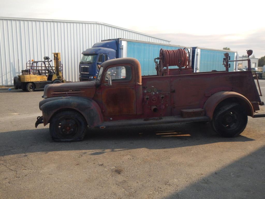 1942 American Lafrance Fire Truck Find
