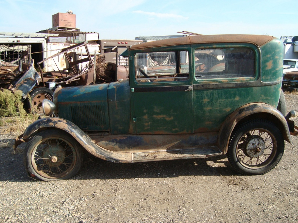 In The Barn Since 65 1929 Ford Model A
