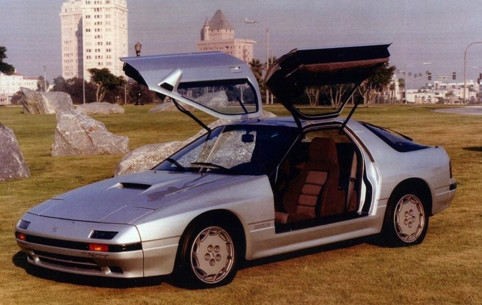 1987 Mazda RX7: Gullwinged Rotary
