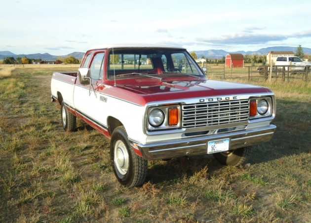 1978 Dodge Power Wagon Adventurer Equipped