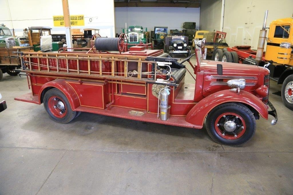 Farewell Old Friend: 1942 Mack Fire Truck