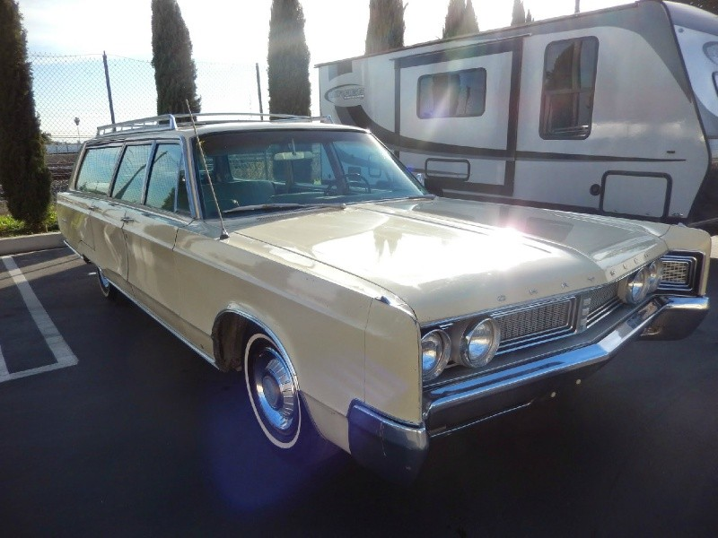 Stately Wagon 1967 Chrysler Town And Country