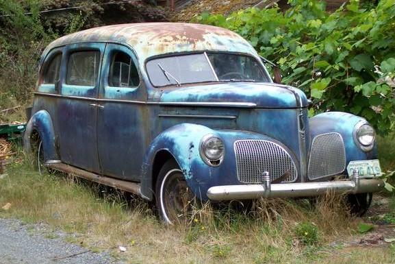 1939 Studebaker Hearse: Last One on Earth?