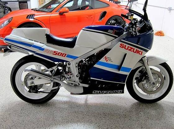 1986 Suzuki RG500: 60 in 3.4