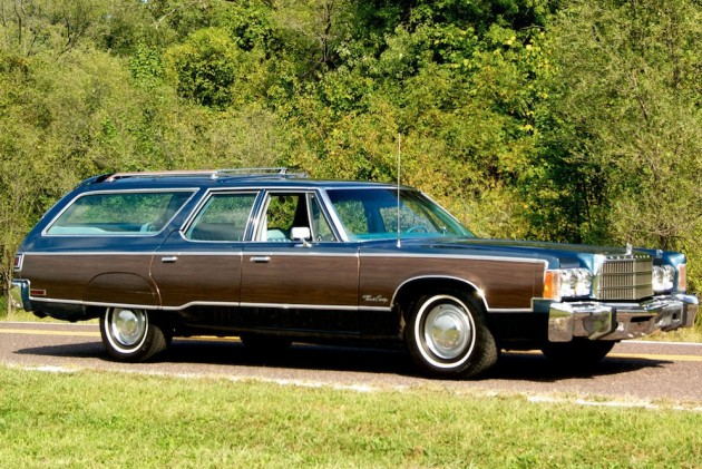 Classic Wagon: 1977 Chrysler Town & Country