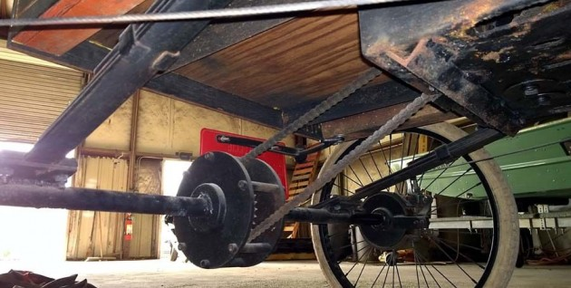 1901 Olds chain drive