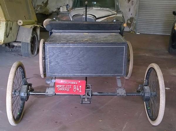 1901 Olds rear