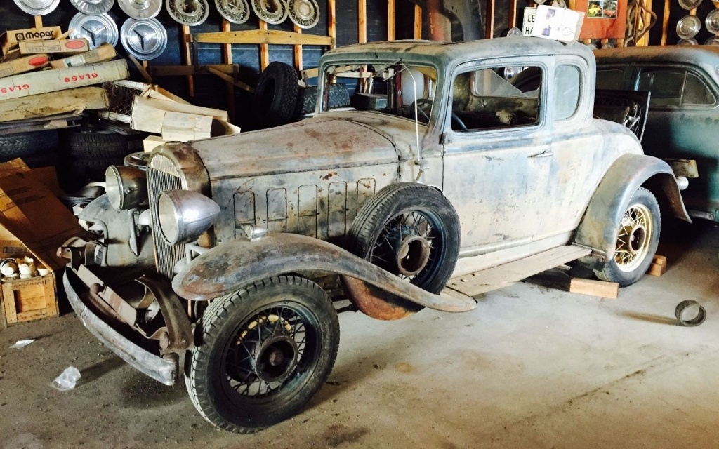 Stored For 60: 1932 Buick Business Coupe