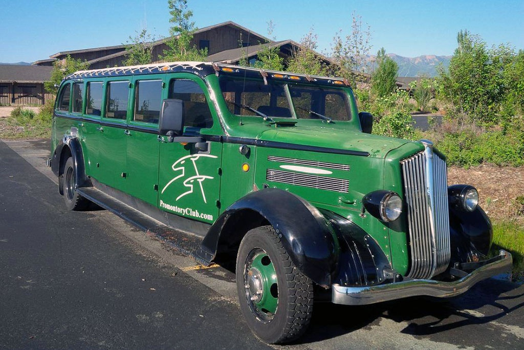 1939 White Model 706 Yellowstone Bus Find