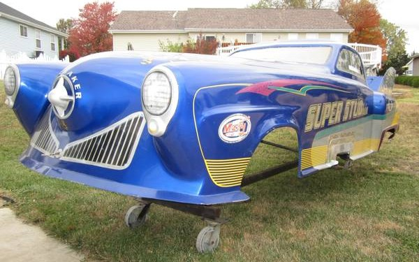 Seen 200 Mph 1950 Studebaker Fiberglass Body