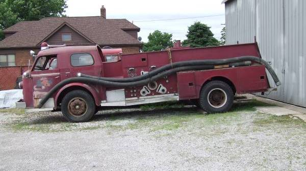 1956 American LaFrance Pumper