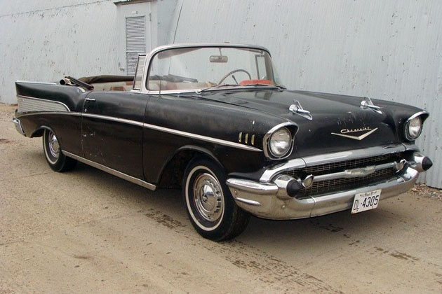 Topless Classic 1957 Chevrolet Bel Air