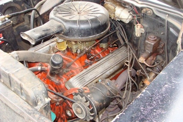 1957 Chevy Bel Air Convertible Engine