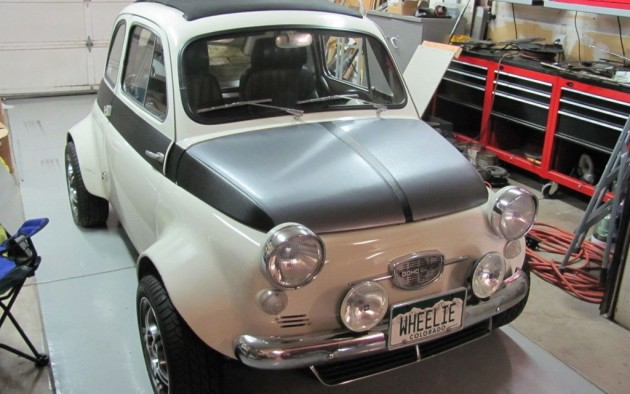 Monster Mouse: STI Powered 1957 Fiat 500