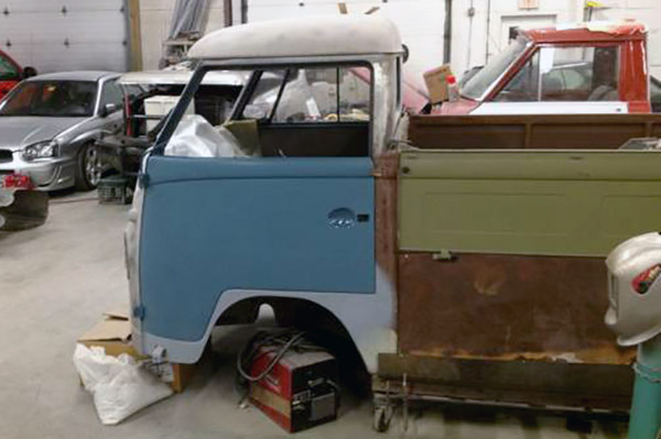1957 VW Transporter Project