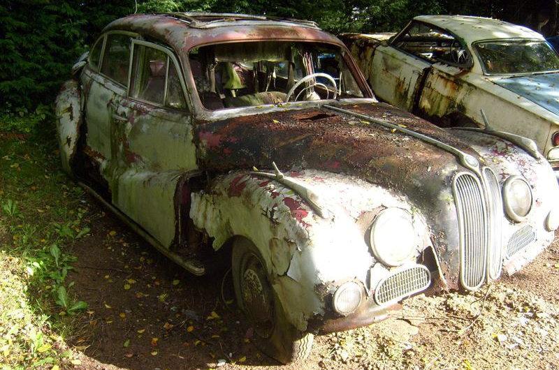1961 BMW 2600 Rare Parts Car
