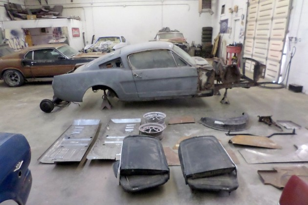 1965 Mustang Fastback project