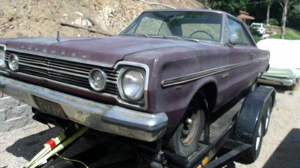 Black Plate Belvedere 1966 Plymouth Project