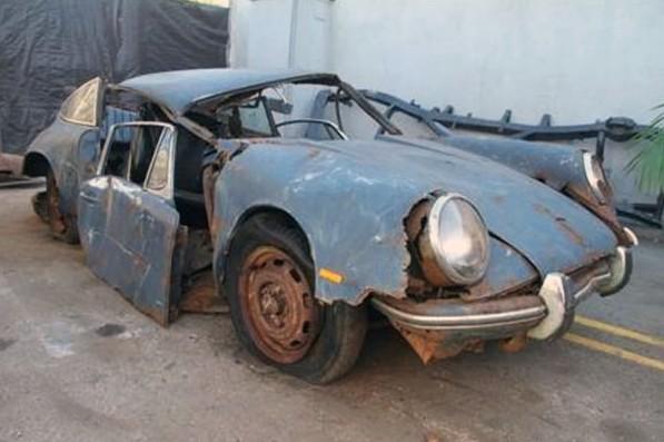 True Rust Bucket: 1967 Porsche 912