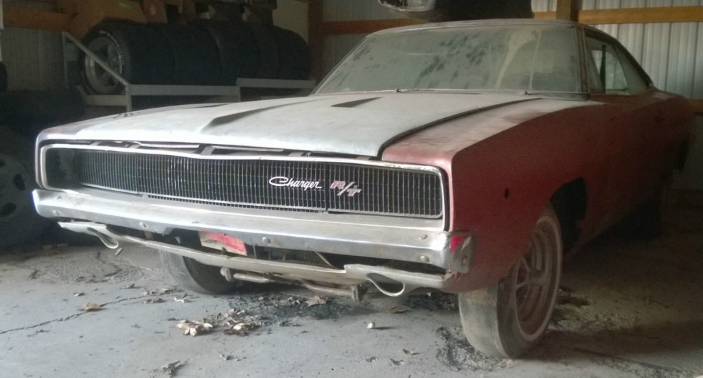 Save Me: 1968 Dodge Charger R/T
