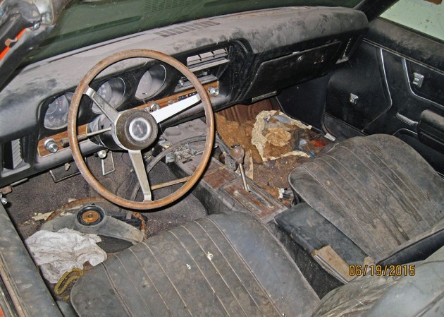 1969 Pontiac GTO Judge Convertible Barn Find 2
