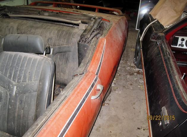 1969 Pontiac GTO Judge Convertible Barn Find