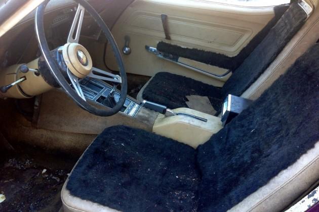 1970 Corvette Interior