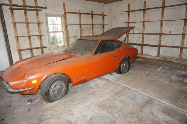 1972 datsun 240z barn find. Black Bedroom Furniture Sets. Home Design Ideas