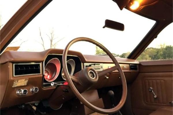 1972 Ford Pinto Interior