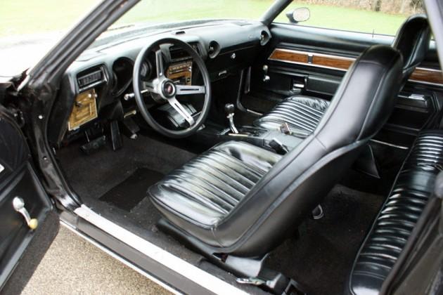 1973 Hurst Olds Interior