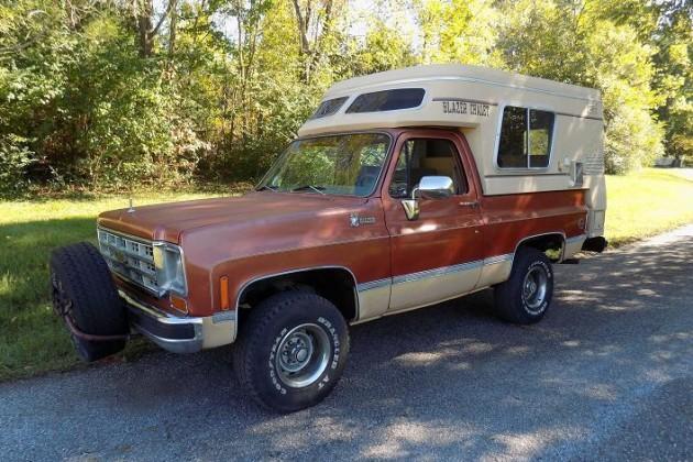 1977 Chevy Blazer Chalet: Home Away