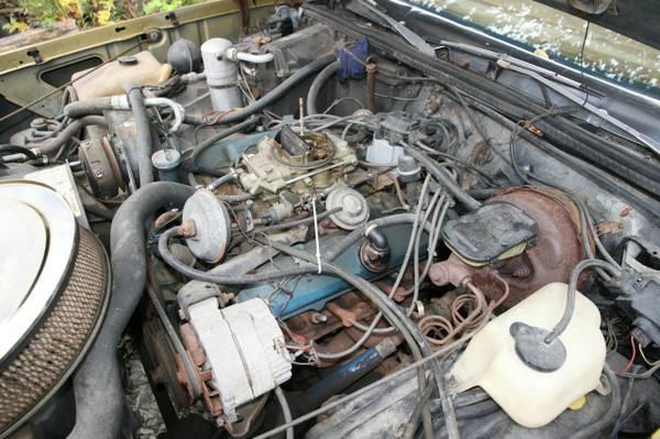 1979 Hurst Olds Cutlass W30 engine