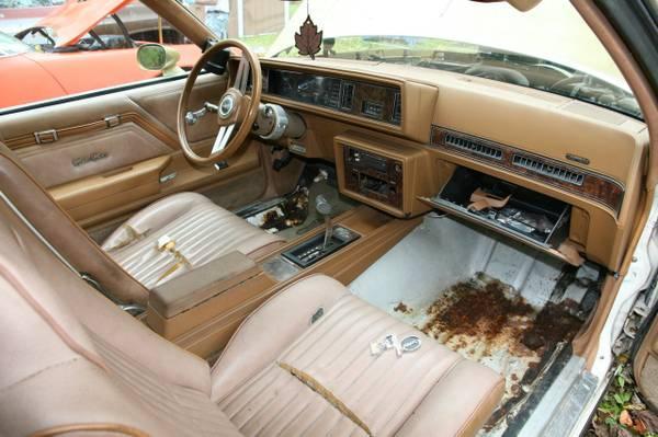 1979 Hurst Olds Cutlass W30 int.