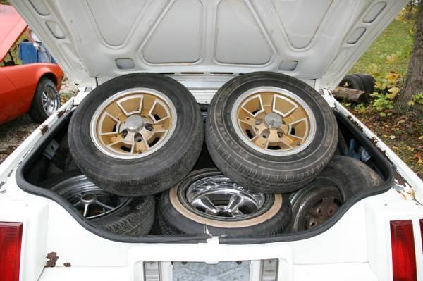 1979 Hurst Olds Cutlass W30 wheels