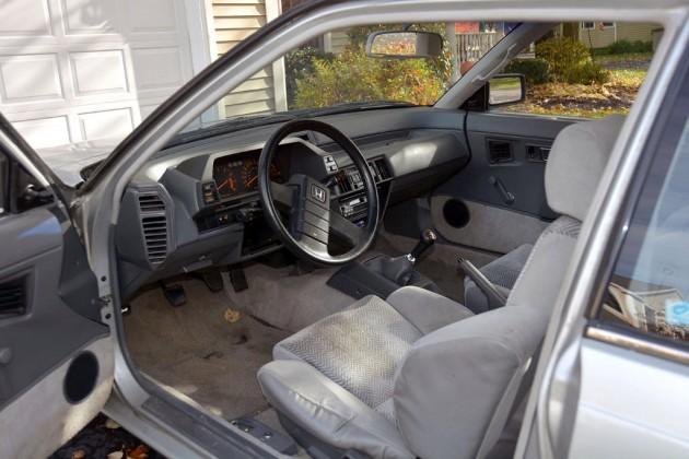 1984 Honda Prelude Interior