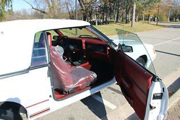 1984 Mustang GT350 Interior