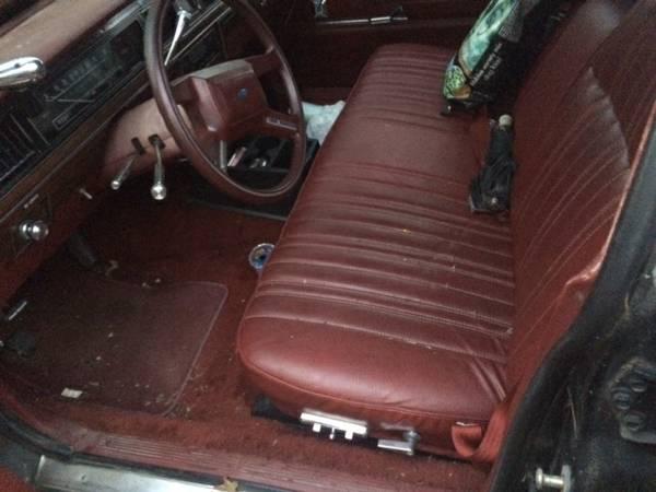 1986 Ford LTD Wagon: Coroner's Car