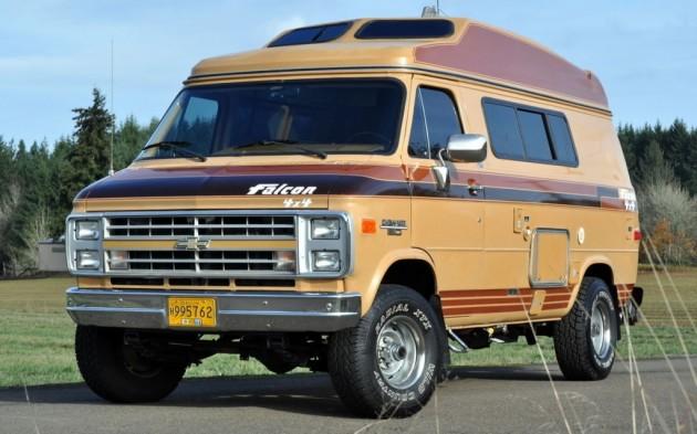 1989 Chevrolet Falcon 4x4 Van