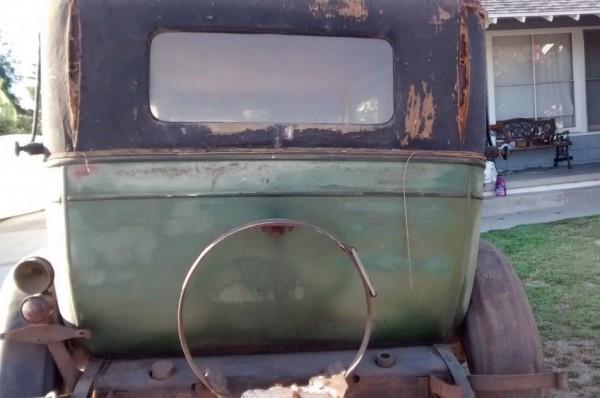 '26 Pontiac rear