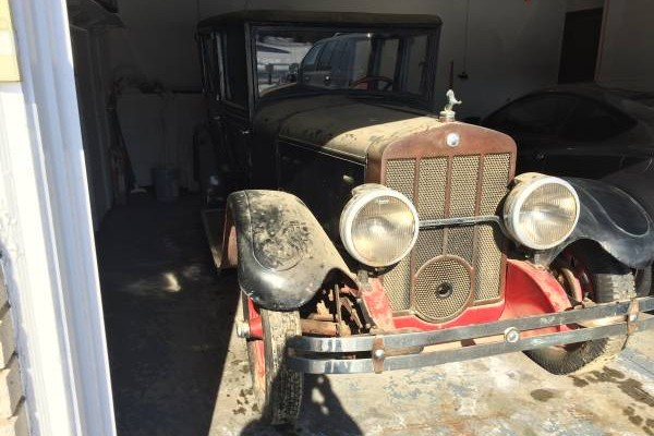 Air Cooled Baby: 1928 H.H. Franklin 12B